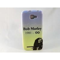 Capa Blu Case Silicone Blu Dash 5.0 D410 Bob Marley