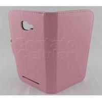 Capa Carteira Flip Cover Blu Dash D410a Couro/silicone