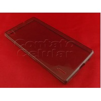 Capa Silicone Huawei X Line Ascend P7 Fume
