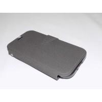 Capa Flip Cover Samsung I9600 S4 Sil. Preto/azul Carteira